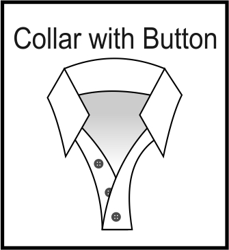 Collar with Button